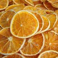 Сушенные апельсиновые слайсы 50 гр.