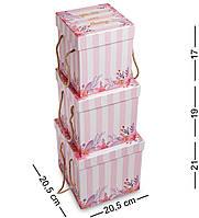 Подарочная упаковка WG-43 Набор коробок из 3шт - Вариант A (AE-301096)