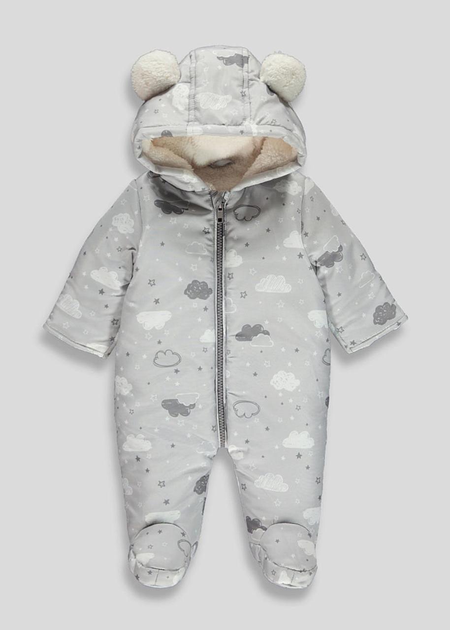 Детский зимний комбинезон для мальчика Matalan Великобритания Размер 68-74, 74-80