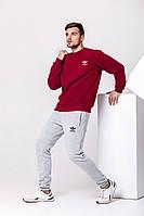 Костюм теплый спортивный Adidas Костюм зимний спортивный адидас на флисе