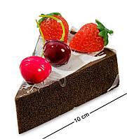 """QS-01/1 Пирожное """"Ягодное удовольствие"""" (имитация, магнит)"""
