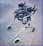 Б/У Динамический вертикализатор для детей с дцп Ormesa Grillo Posterior Gait Trainer Size 4, фото 7