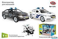 Полицейская машина конструктор Play Smart