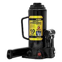 Домкрат гидравлический бутылочный 10т H 230-460мм sigma 6101101, фото 1