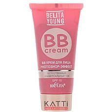 Bielita - Belita Young BB Cream Крем для лица Photoshop-Эффект универсальный тон 30мл, фото 2