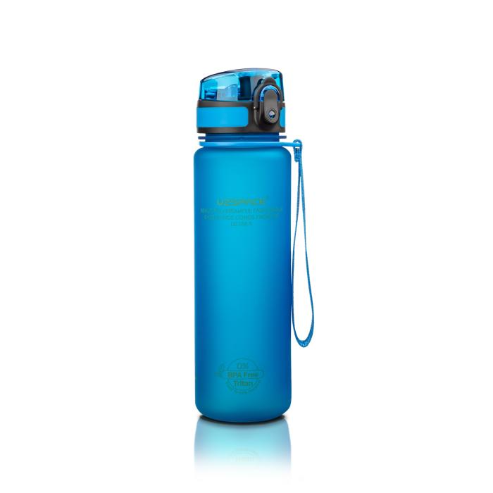 Бутылка для воды UZspace Blue (500 мл) - Синяя
