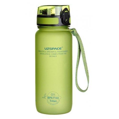 Бутылка для воды UZspace Green (650 мл) - Зелёная