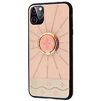 "TPU+Glass чехол TYBOMB Shinig Line для Apple iPhone 11 Pro (5.8"")"
