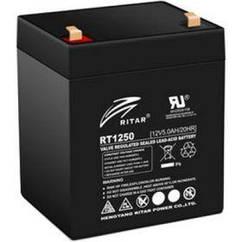 Батарея к ИБП Ritar AGM RT1250B, 12V-5Ah (RT1250B)