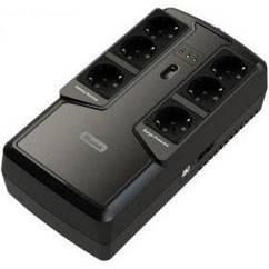 ИБП Mustek PowerMust 600 Offline, 6xSchuko, USB  (600-LED-OFF-T10)