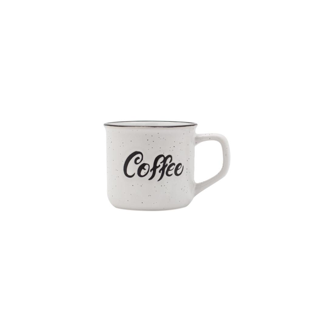КРУЖКА COFFE БЕЖЕВАЯ 143МЛ