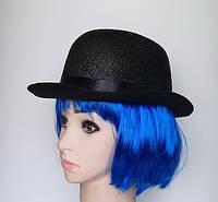 Шляпа - котелок блестящий