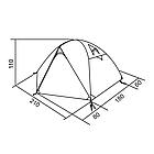 Палатка трехместная RedPoint Space 3 G3 RPT042, фото 5
