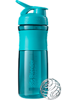 Шейкер Blender Bottle SportMixer Teal (828 мл) - Зеленовато-голубой