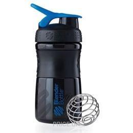 Шейкер Mix Bottle Navy (500 мл) - Черный