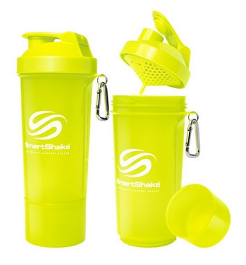 Шейкер SmartShake Neon Yellow (500 мл)