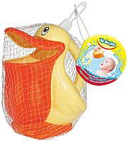 """58051. Детская  игрушка BeBeLino """"Лейка для ванны Пеликан"""""""