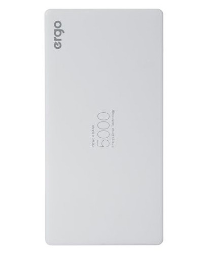 УМБ Power Bank (внешний аккумулятор) для телефона ERGO LP-91 5000 мАг Li-pol Белый