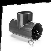 Тройник ПВХ Aquaviva  диаметр110 мм, фото 1