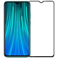 Защитное стекло 3D 19D (full glue) (без упаковки) для Xiaomi Redmi Note 8