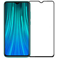 Защитное стекло 10D (full glue) (без упаковки) для Xiaomi Redmi Note 8