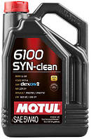 Масло моторное Motul 6100 SYN-CLEAN SAE 5W40 (5L)