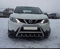 Кенгурятник (передняя защита) Nissan X-Trail (2014+)