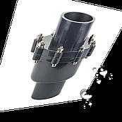 Обратный клапан поворотный ПВХ ERA, диаметр 200 мм