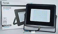 100W FERON LED прожектор LL-922 100W 6400K IP65, фото 1
