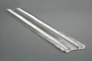 Лесенка большая OPSL 475x90 мм б/у ребристый профиль, фото 2