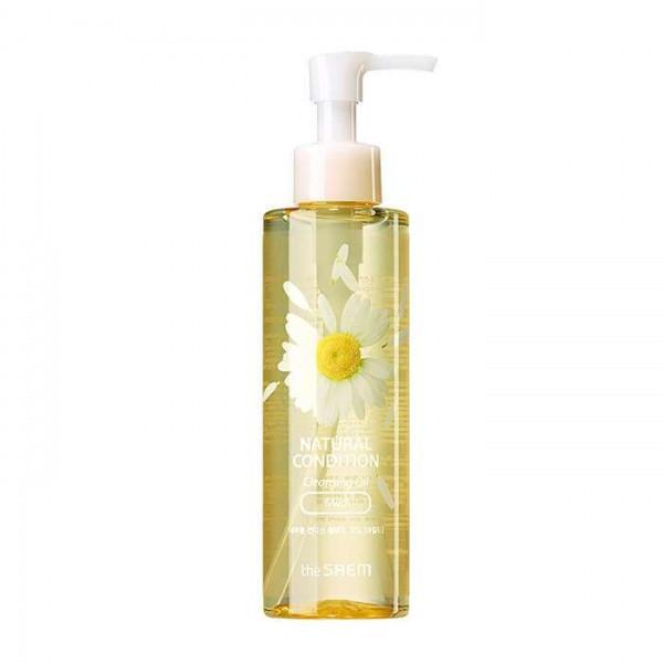 Успокаивающее гидрофильное масло для чувствительной кожи The Saem Natural cleansing Oil mild