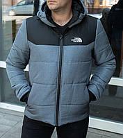 Куртка мужская зимняя The North Face X-grey  до - 25*С | ТОП качество