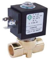 Электромагнитные клапаны нормально открытые для нефтепродуктов, воды, воздуха, пара 21A2ZR15(45), G 1/4.