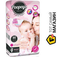 Подгузники Poopeys Premium Comfort 4Maxi 7-18кг, 44шт.