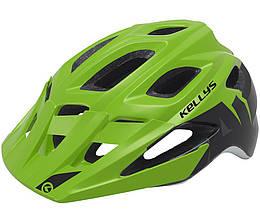 Шолом велосипедний KLS RAVE M-L Green
