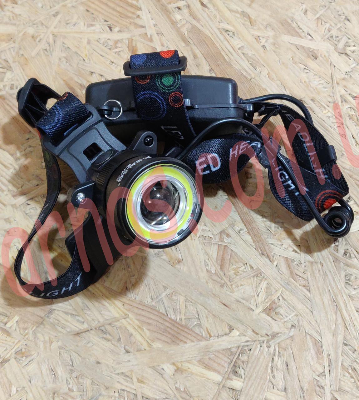 Аккумуляторный налобный фонарь BL-V27-T6