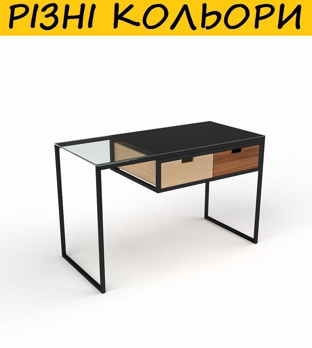 """Стол компьютерный стеклянный """"Ритм"""". Цвет и размер можно изменять. Возможна фотопечать и матировка."""