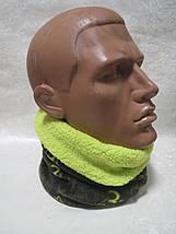 Зимний бафф, теплый шарф-труба X-Mail (СТОК), фото 3
