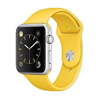 Ремешок xCase для Apple Watch Sport Band 38/40 mm Yellow (M)