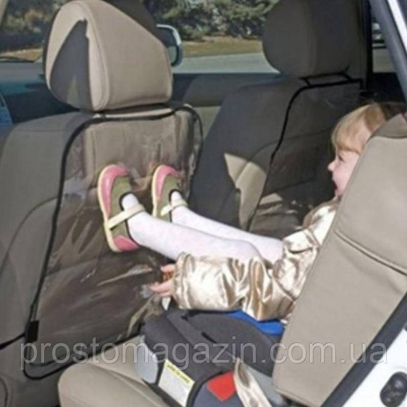Чехол защитный на спинку переднего сиденья автомобиля