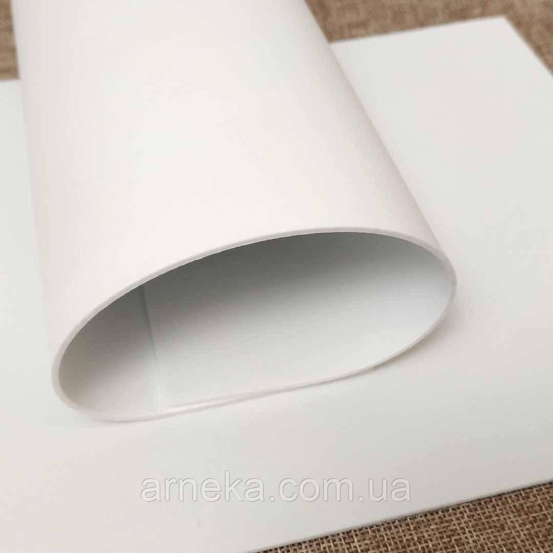 Фоамиран 20*30, товщина 2 мм (білий)