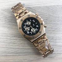 Часы мужские Audemars Piguet AA Gold-Black