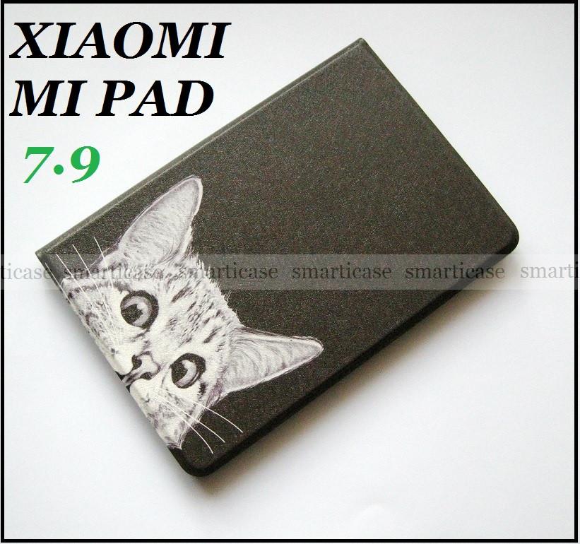 Чорний чохол з малюнком для Xiaomi Mipad 7.9 A0101 (Mi pad 1) смарт обкладинка
