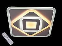 Потолочная светодиодная люстра с пультом, 50см 105W