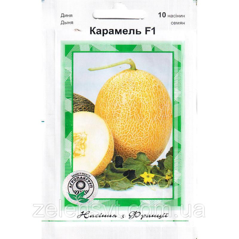 """Насіння дині ранньої """"Карамель"""" F1 (10 насіння) від Clause"""