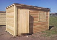 Бытовки деревянные для дачи и стройки