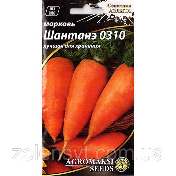 """Насіння моркви """"Шантане 0310"""" (3 г) від Agromaksi seeds"""