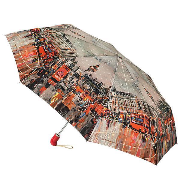 Зонт женский Zest 83744-001, полный автомат, 3 сложения, сатин.