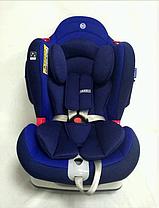 Автокресло детское  El Camino JAZZ МЕ 1064 0+/1/2 от рождения до 6 лет (0-25 кг) СИНИЕ