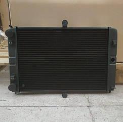 Радиатор охлаждения водяной ВАЗ 2112, 2113, 2114 медный 2-х рядный